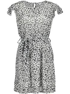 summer dress 8480 luba jurk black/white