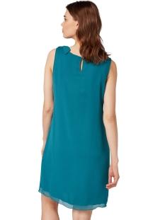 jurk met knoopdetails op schouder 1011398xx70 tom tailor jurk 11011