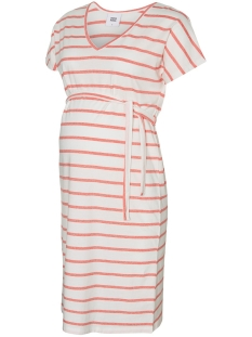 b6ac9b5a3ee818 Nieuw Mama-Licious Positie jurk MLANNETTI S S JERSEY KL DRESS A. V.  20010567 Snow White