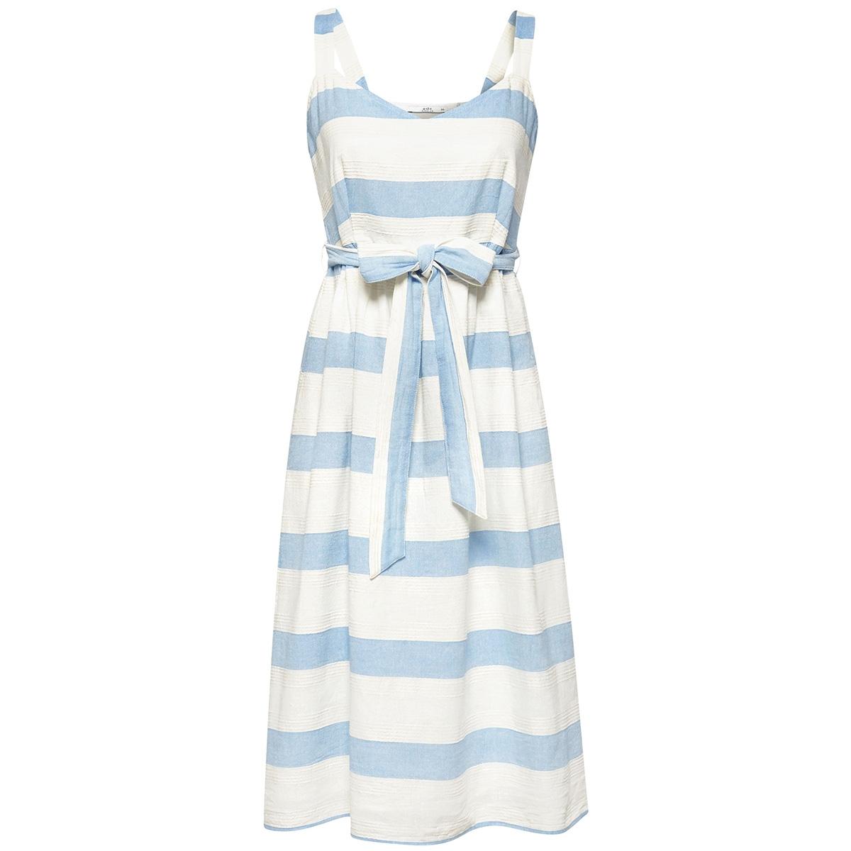 gestreepte jurk met schouderbanden 059cc1e017 edc jurk c110