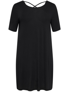Only Carmakoma Jurk CARBANDANA S/S DRESS 15161652 Black