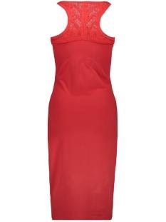 jessie macramie midi g80207ru superdry jurk festive red