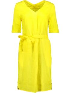 linnen jurk 23001537 sandwich jurk 30027