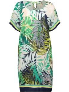 jurk met palmprint 23001549 sandwich jurk 50024