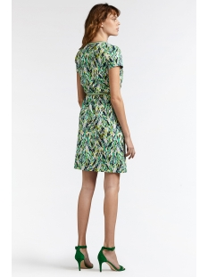 jurk met grafische print 23001567 sandwich jurk 50024