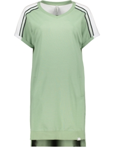 Zoso Jurk SASKIA SPORTY DRESS WITH PIPING 192 SAGE/NAVY