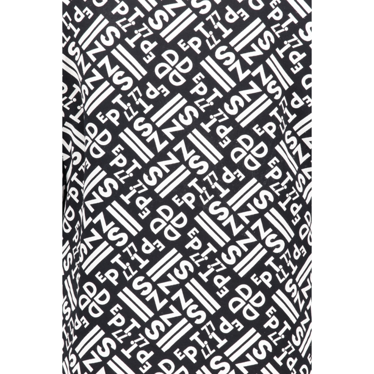 stacey allover printed sporty dress 192 zoso jurk navy