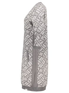 stacey allover printed sporty dress 192 zoso jurk grey