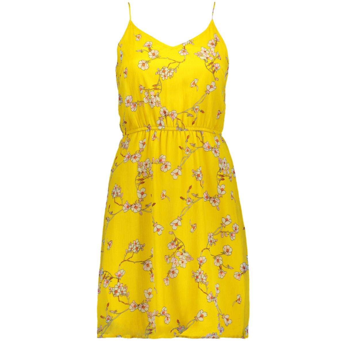 vmwonda singlet short dress exp 10166410 vero moda jurk lemon curry/eliza