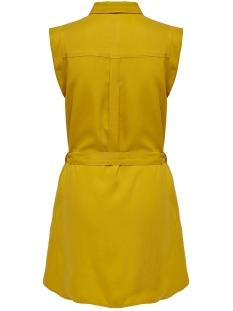 onlfchilli life sl shirt dress wvn 15180733 only jurk golden yellow