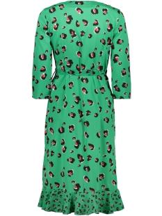 vmhenna leo wrap dress lcs 10221177 vero moda jurk holly green/leona