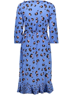 vmhenna leo wrap dress lcs 10221177 vero moda jurk granada sky/leona