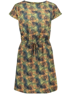 Vero Moda Jurk VMSASHA BALI S/S DRESS PRINTED LCS 10200855 Laurel Wreath/CHARLEE PRINT
