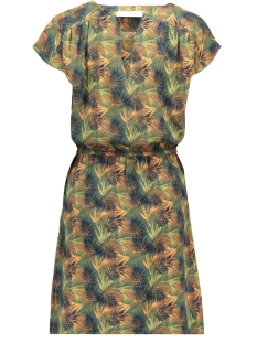 vmsasha bali s/s dress printed lcs 10200855 vero moda jurk laurel wreath/charlee print