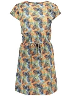 vmsasha bali s/s dress printed lcs 10200855 vero moda jurk cool blue/charlee print