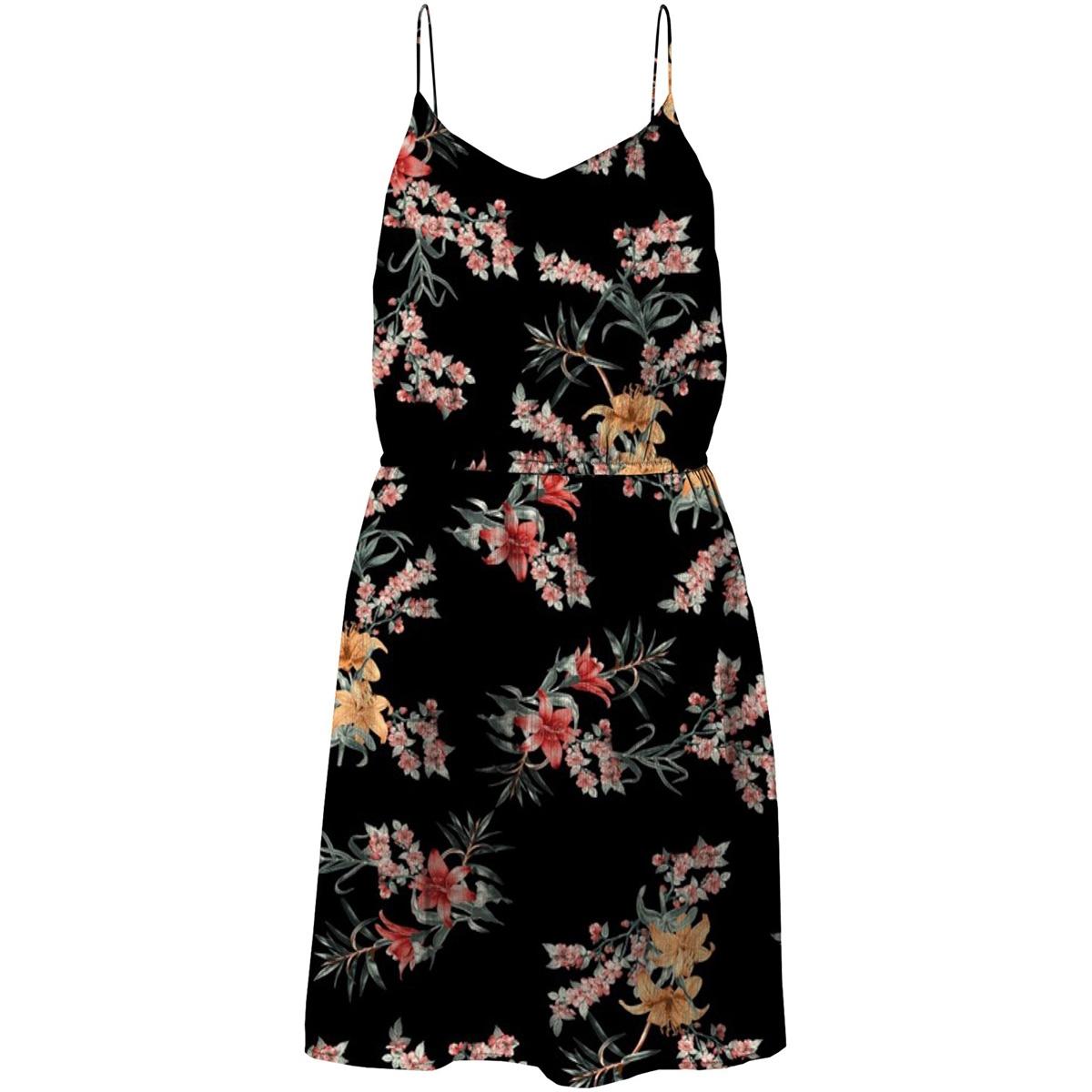 vmwonda singlet short dress exp vero moda jurk black/suki