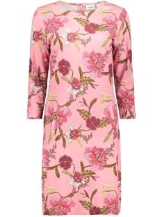 jersey dress above knee t6513 saint tropez jurk 7351 a.pink