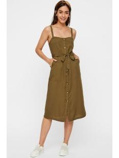 pccelly strap midi dress 17097448 pieces jurk beech