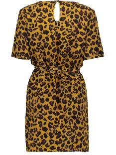 jdyutrecht milo s/s dress wvn 15188013 jacqueline de yong jurk golden brown/leo