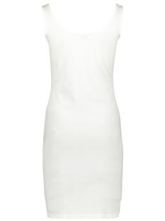 jdynevada treats s/l button dress 15179978 jacqueline de yong jurk cloud dancer
