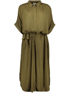 Vila Jurk VIOLEA S/S SHIRT DRESS 14054212 Dark Olive