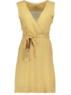 pccaya sl dress 17097784 pieces jurk white peper/bright whi