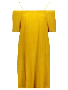 nmkaro s/s dress 4h 27007057 noisy may jurk golden rod