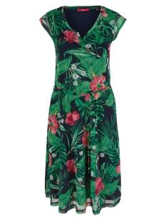 mesh jurk met tuniekhals 05906823908 s.oliver jurk 59a9