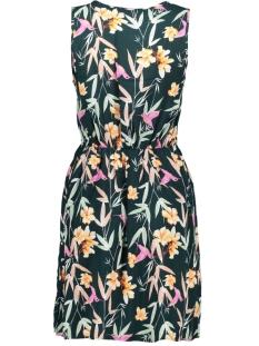 vmsimply easy sl short dress 10211484 vero moda jurk ponderosa pine/magnolia