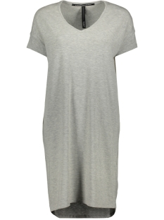 10 Days Jurk SUPER SOFT TEE DRESS 71 353 9100 LIGHT GREY MELEE