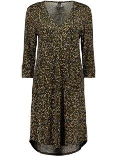 jurk 3515 iz naiz jurk spikkel yellow