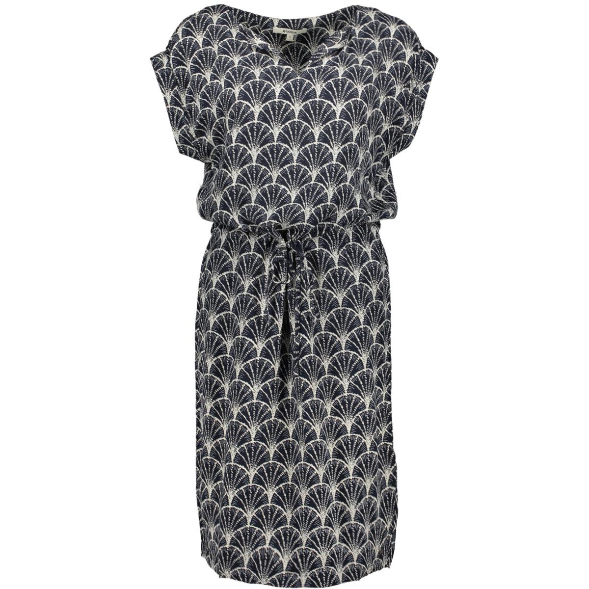 jurk met all over print ge900500 garcia jurk 292 dark moon