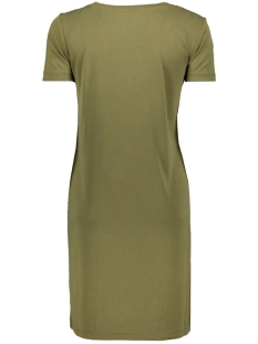 onlmille  s/s string  dress jrs 15183440 only jurk martini olive