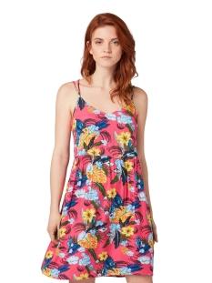 jurk met tropenpatroon 1011679xx71 tom tailor jurk 18145