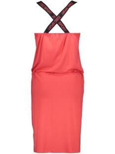 hella dress printed 193 zoso jurk red/black