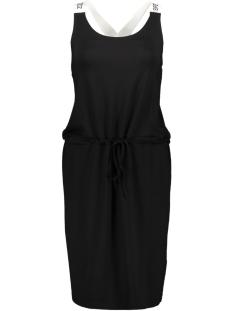 hella dress printed 193 zoso jurk black/white
