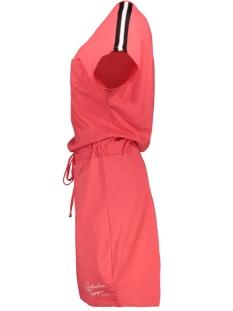 sellin dress with lurex 193 zoso jurk red/white