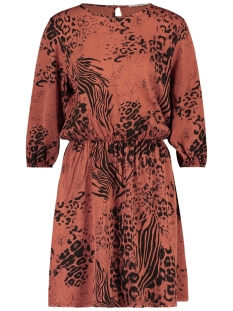Aaiko Jurk MADOU DRESS VIS 149 RUST