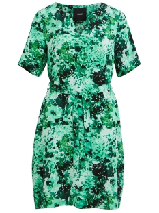 Object Jurk OBJSANA JOLIA SOUTH 2/4 DRESS 104 DIV 23031197 Fern Green/AOP