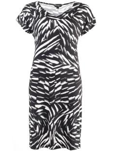 larien dress ss black/white ned jurk 907 black/white
