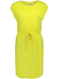 Only Jurk ONLNESSA S/S DRESS CS JRS 15194057 Neon Yellow