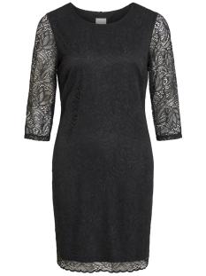 viblond 3/4 sleeve dress - noos 14052293 vila jurk black