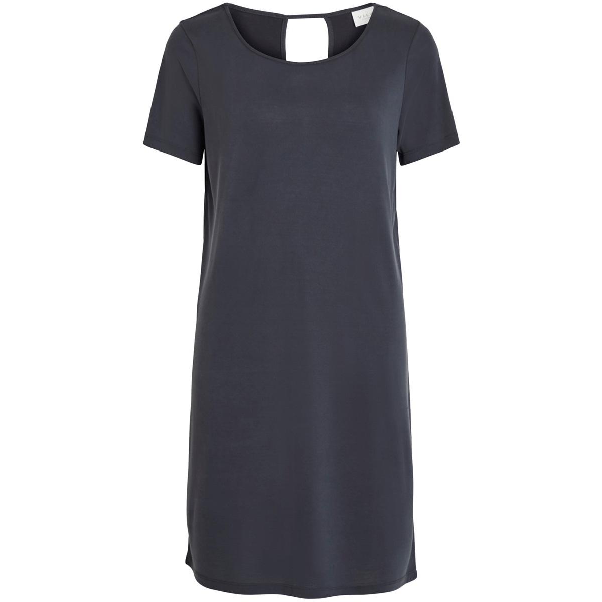 vitriny s/s dress-fav nx 14053486 vila jurk black