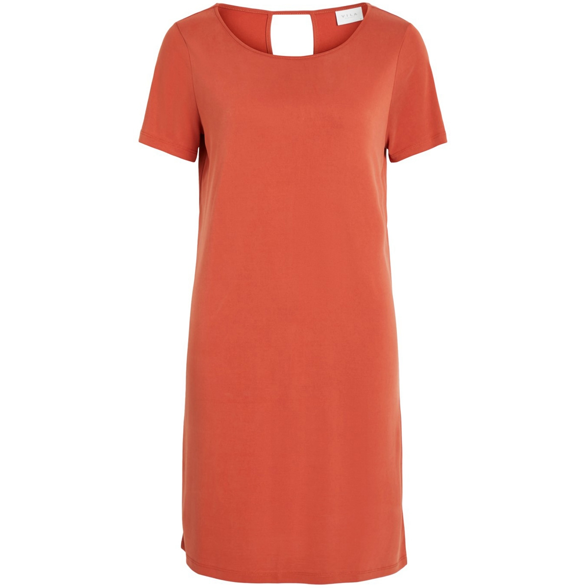 vitriny s/s dress-fav nx 14053486 vila jurk ketchup