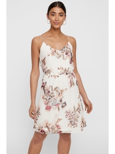 vmwonda singlet short dress exp 10166410 vero moda jurk snow white/lea