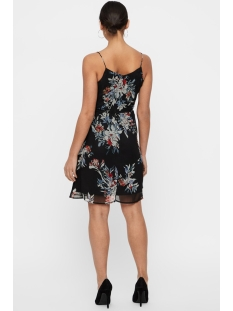 vmwonda singlet short dress exp 10166410 vero moda jurk black/lea