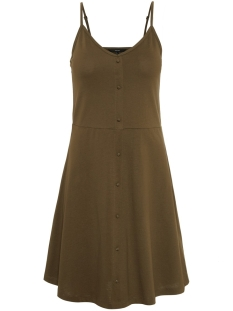Vero Moda Jurk VMADRIANNE SINGLET SHORT DRESS JRS 10212312 Ivy Green