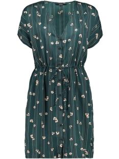 Vero Moda Jurk VMELVA S/S SHORT SHIRT DRESS WVN GA 10217602 Ponderosa Pine/ELVA