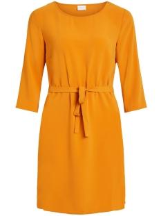 Vila Jurk VILAIA 3/4 SLEEVE DRESS 14053370 Golden Oak