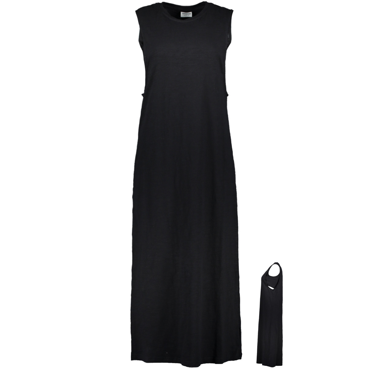 nmlara s/l long dress 5 27008123 noisy may jurk black/without print
